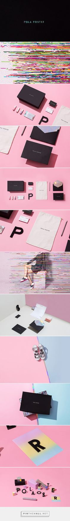 POLA FOSTER packaging branding on Behance by Futura curated by Packaging Diva PD. This is Pola Foster, a project of a Mexican (and very young) entrepreneur who creates handmade shoes.