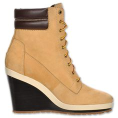 Timberland wedges. Need these so bad!!!