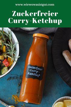 """Werbung / Die Grillsaison startet gerade und wir hoffen, dass uns die Sonne ganz lange erhalten bleibt. Ansonsten macht man eben """"Pfannengrillen"""". Der zuckerfreie Curry-Ketchup mit Kalbsbratwurst und Grillgemüse war übrigens eine wunderbare Kombi, die Sommer wie Winter richtig gut schmeckt. Dann hoffen wir auf einen sonnigen Sommer! #grillen #kalbfleisch #zuckerfrei #ketchup Curry Ketchup, Burger Co, Foodblogger, Food Blogs, Fabulous Foods, Low Sugar, Dip Recipes, Healthy Kids, Easy Peasy"""