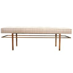 Bench Designed by Harvey Probber | From a unique collection of antique and modern benches at http://www.1stdibs.com/furniture/seating/benches/