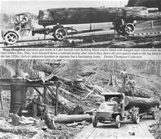 Logging Railroads of Skagit County -- Map of abandoned railroads