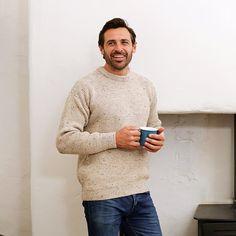 Cream Hill Walker Sweater   Sweaters, Irish sweater, Crew