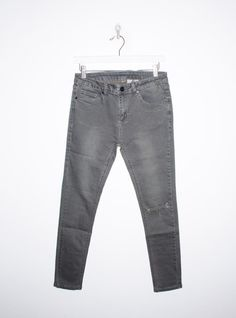 Dunn Jeans in Faded Black BY UNIF