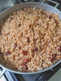 The Best Rice and Beans - Guyanese Girl Haitian Soul Haitian Rice And Beans Recipe, Haitian Food Recipes, Guyanese Recipes, Jamaican Recipes, Rice Recipes, Cooking Recipes, Healthy Recipes, Caribbean Rice And Beans, Hatian Food