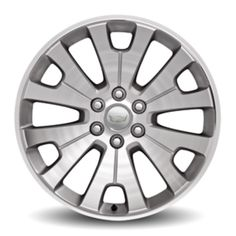 Escalade 22in Wheels, Manoogian Silver, CK161 SFO: Personalize your Escalade with these 22-Inch Silver Ultra-Bright Machined Accessory Wheels.