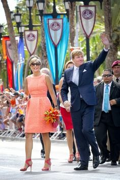 King Willem-Alexander and Queen Maxima enjoy day 1 in Aruba on their tour of Caribbean 11/20/2013