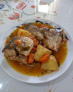 Fish Recipes, Seafood Recipes, Greek Fish, Pot Roast, Pork, Favorite Recipes, Beef, Meals, Chicken