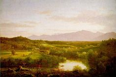 Thomas Cole Paintings Hudson River School