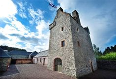 Aikwood Castle - Scotland  The first mention of Aikwood comes in the Lord Treasurer of Scotland's accounts of 1455, when it was one of the 'forest steadings' of Ettrick Forest leased from King James III to Lord Home.  jane@worldtravelspecialists.biz