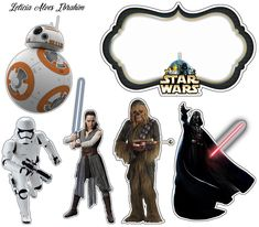 - Star Wars Printables - Ideas of Star Wars Printables - Star Wars Free Printable Cake Toppers. Star Wars Birthday Cake, Star Wars Party, Kai Lan, Darth Vader, Big Hero 6, Bolo Star Wars, Star Wars Stencil, Aniversario Star Wars, Star Wars Cake Toppers