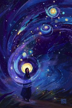 40 Super Cool Milky Way Paintings For Outerspace Lovers - Buzz 2018 40 Super Cool Milky Way Painting Art And Illustration, Graphic Design Illustration, People Illustration, Art Illustrations, Moon And Stars Wallpaper, Star Wallpaper, Wallpaper Wallpapers, Galaxy Wallpaper, Iphone Wallpaper