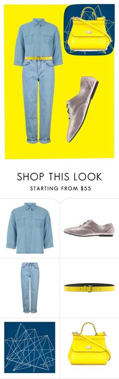 """""""Denim times II"""" by mroselagger ❤ liked on Polyvore featuring Hobbs, adidas, Topshop, Jil Sander Navy, Art Addiction and Dolce&Gabbana"""