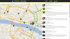 Would you like to see what's happening in the world by clicking map? Tweets and photos of the area will tell you more about it.  This is a new social media service by Finnish students and it seems to avoke worldwide interest.