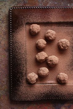 Banana Chocolate Truffles: Vegan Truffles with a Hint of Five-Spice Powder