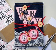 Canvas Corp paper collection has all the colors and designs to inspire you to create a unique keepsake for a special moment or someone precious in your life. Combine a Canvas Corp Denim journal cover with the sweet baby pink colors of the Canvas Corp Baby papers and make an baby album to hold your photos and memories in. Not familiar with book binding? No problem; in this step by step tutorial...