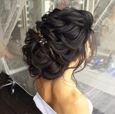 Textured bridal updo by Art4Studio