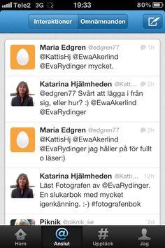 Första tweetsen