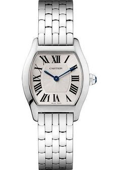 Cartier Tortue Small - White Gold Watch W1556365
