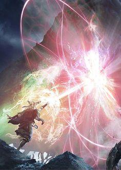 The Gatewatch by Aleksi Briclot | Fantasy Art Watch | Bloglovin'
