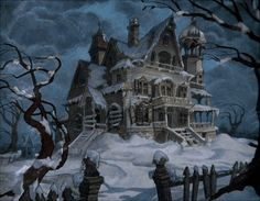 Winter in the haunted house | via Tumblr