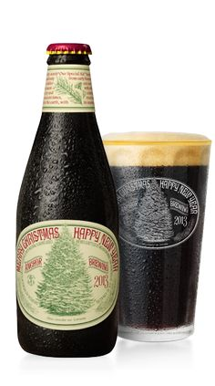 Nothing says Christmas like Anchor Brewing's Christmas Beer, Our Special Ale. Brewed since 1975, each year is has a different recipe and a different tree on the label.