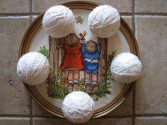 Felted Wool Dryer Balls  Set of 5  Home Decor  by EverGreenBazaar, $22.00