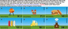 #SwagBucks New Swag BBQ #CollectorsBills Monday 30 April 2018 12:00 A.M. PDT/8:00 A.M. BST/9:00 A.M. CET/5:00 P.M. AEST. Collect all six bills by Sunday 06 May 2018 11:59 P.M. PDT. Monday 07 May 2018 7:59 A.M. BST/8:59 A.M. CET/ 4:59 P.M. AEST, and earn 20 swagbucks instantly!! Track all Collector's Bills at http://swagbucks.com/account/summary. #ezswag #GoodLuck #HaveFun #Australia #Canada #Germany #Ireland #UnitedKingdom #UnitedStates