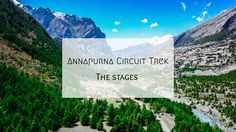 The full itinerary of Annapurna trek in Nepal. Article available on our travel blog Depaysemoi. https://www.depaysemoi.com