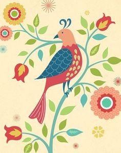 bird- Pa Dutch Distlefink
