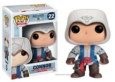 Connor from Assassins Creed 3. Funko POP vinyl figure.
