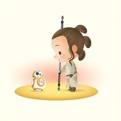 Just a little Rey to start the day.