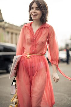 NYLON · Paris Fashion Week Street Style Day 8: And Who Are You Wearing?