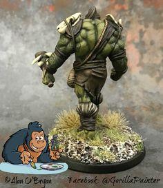 Orc Chief by Alan O'Bryan Atlantis Miniatures