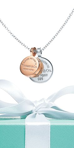 A pendant from the Return to Tiffany® collection that she can wear while she gets to where she is going without forgetting where she came from.