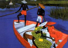SC Lowcountry Gullah artist Jonathan Green  [Gardens Corner, Beaufort County, SC Native]