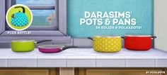 ♥ cooking with dottie! pt.2: pots & panswowie it's been 4ever since i've been on simblr. as an apology for being away so long, here's the second part of the cooking with dottie! series: a set of pots...