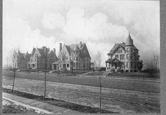 Mansions in Milwaukee Milwaukee Skyline, Milwaukee City, Milwaukee Wisconsin, Victorian Architecture, Historical Architecture, Victorian Photos, Victorian Houses, Wauwatosa Wisconsin, Milwaukee's Best