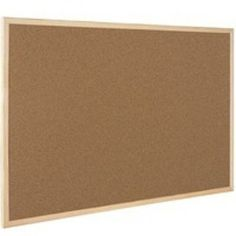 Q-Connect KF03567 Corkboard Wooden Frame 600x900mm: Amazon.co.uk: Office Products