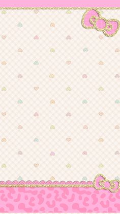 ❤LOve Pink~: Pink Ribbon Hearts Wallpaper❤