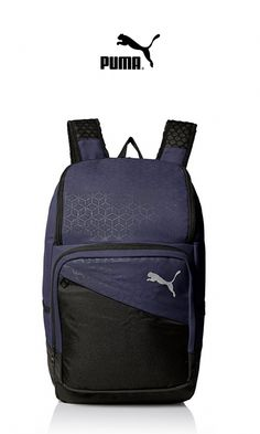 Humor New Arrival Puma Originals Large Capacity Grid Backpack Unisex Big Backpacks Black And White Sports Bags Camping & Hiking