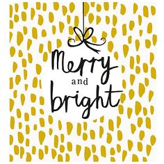 Buy Caroline Gardner Merry And Bright Charity Christmas Cards, Pack of 5 Online…