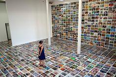My Feet: a mass selfie from Erik Kessels