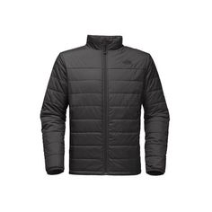 Men's The North Face Bombay Jacket ($99) ❤ liked on Polyvore featuring men's fashion, men's clothing, men's outerwear, men's jackets, grey, jackets, mens gray leather jacket, the north face mens jackets, mens insulated jackets and mens jackets
