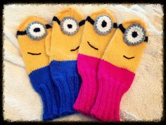 Minions lapasia Minions, Gloves, Winter, Fashion, Moda, Fashion Styles, Minion, Minions Love, Fashion Illustrations