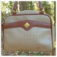 Vintage Liz Claiborne Plaid Bag