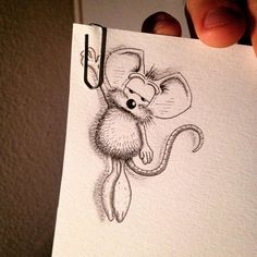 pencil-drawings-mouse-adventures-rikiki-loic-apredart-15