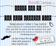 father's day contest 2014 india