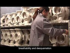 The Lost Foam Casting Process Flowof Ruiou company - YouTube
