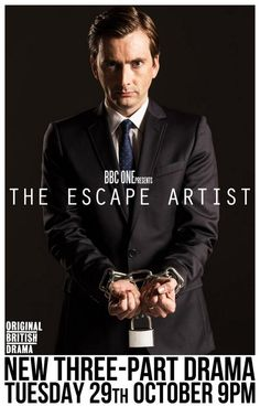 David Tennant stars in The Escape Artist new Bristish Drama on BBCOne. I hope this comes to BBCUSA too!