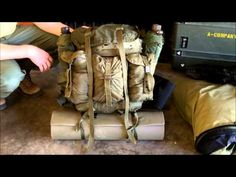 How to Pack a Rucksack (ALICE Method) - http://www.youtube.com/watch?v=_D_IDCKV5IM
